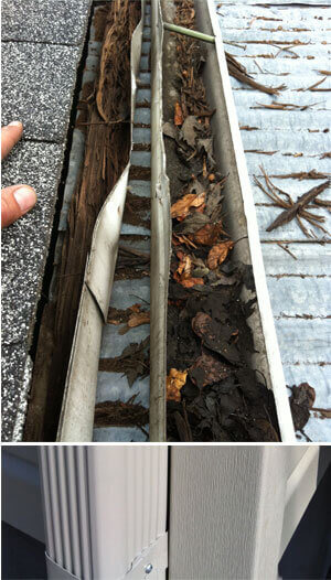 goutti re r paration remplacement entretien nettoyage et d bouchage sur la rive sud par. Black Bedroom Furniture Sets. Home Design Ideas
